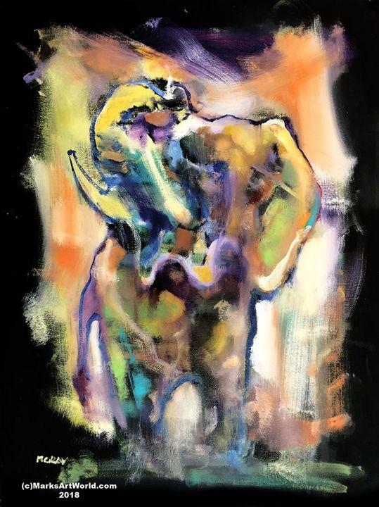 Elephant by Mark Gray - MarksArtWorld