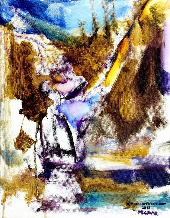 Fly Fisherman by Mark Gray - MarksArtWorld