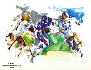 Walter Payton by Mark Gray