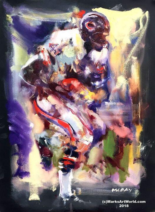 Gayle Sayers by Mark Gray - MarksArtWorld