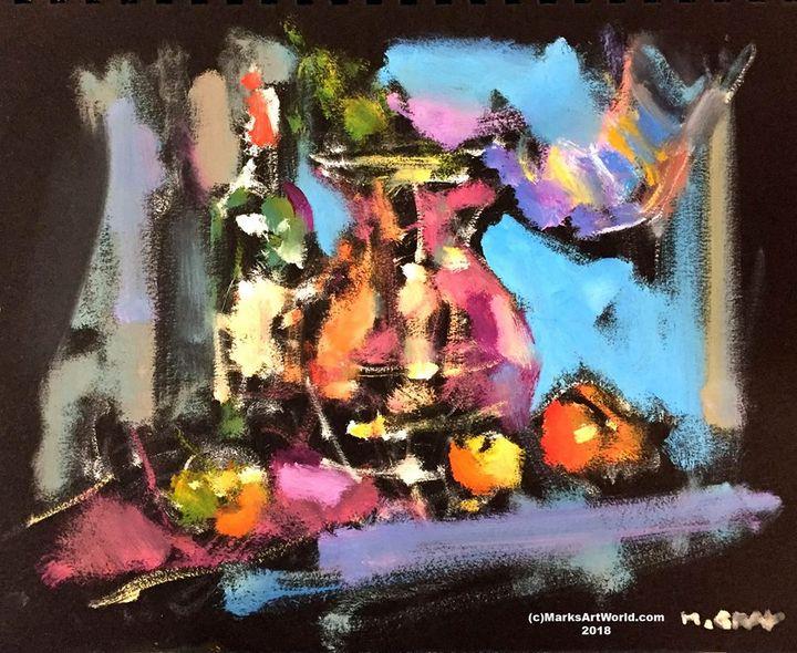 Still Life By Mark Gray - MarksArtWorld