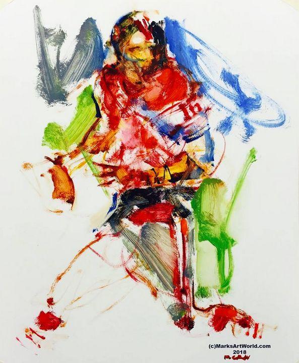 Joe Montana By Mark Gray - MarksArtWorld