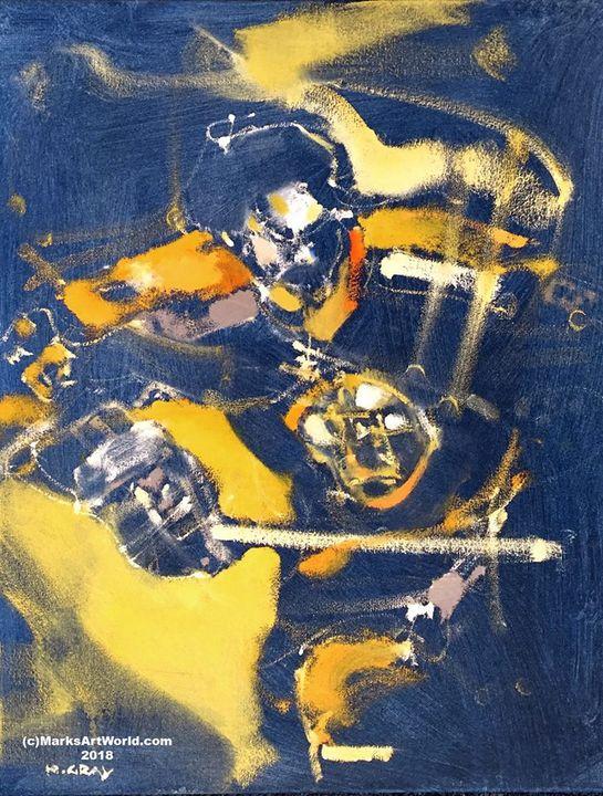 Derek Sanderson by Mark Gray - MarksArtWorld