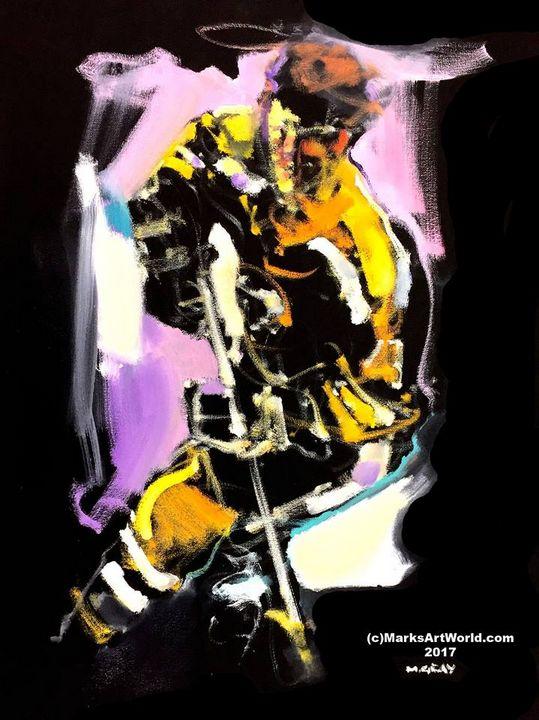 Bobby Orr by Mark Gray - MarksArtWorld
