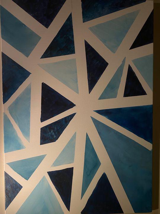 Shades of blue - Sara mubarak