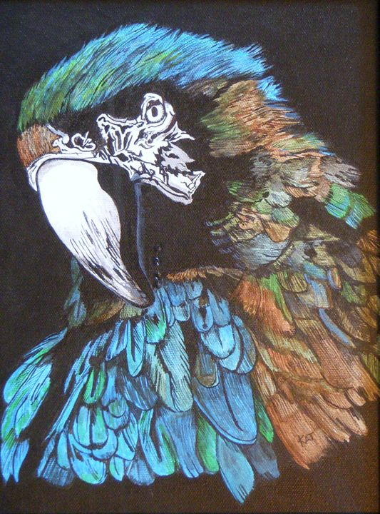 Old Blue - The Art of Kathleen Carrier