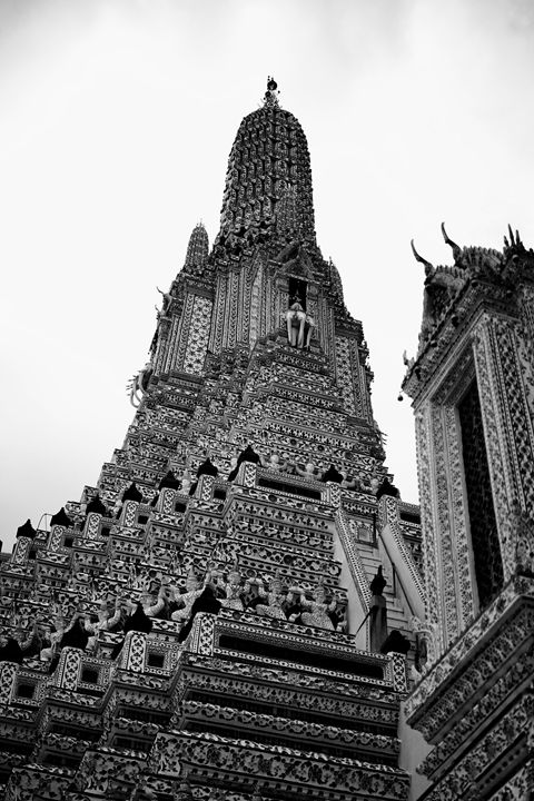 Temple of Dawn - Wat Arun - Thailand Bangkok
