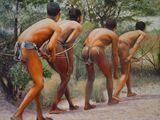 Khoi San oil painting set - 1