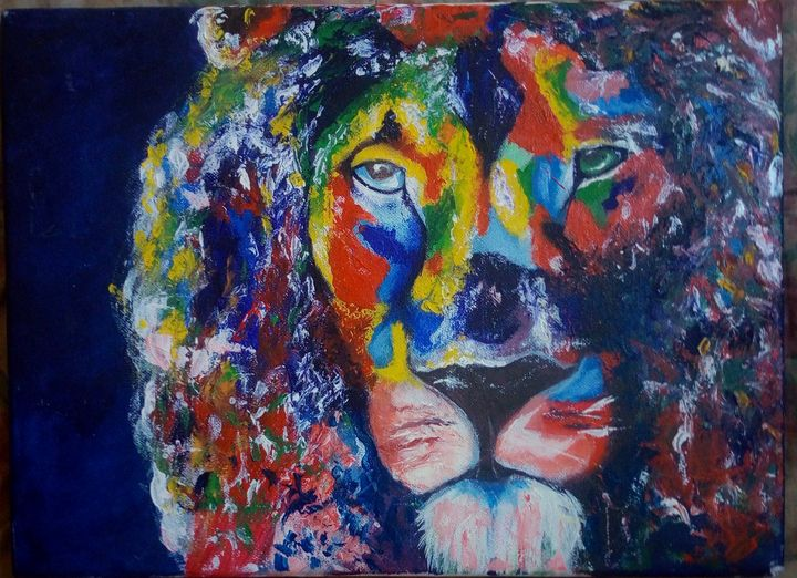 King Within The Jungle - LazarusArt