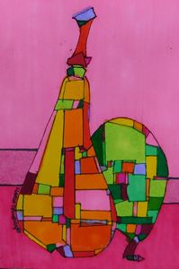 African American Abstract 2 - MarieDemery