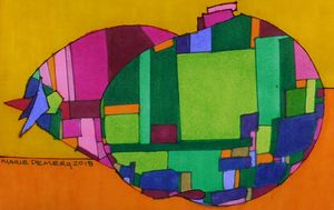 African American Abstract 3 - MarieDemery