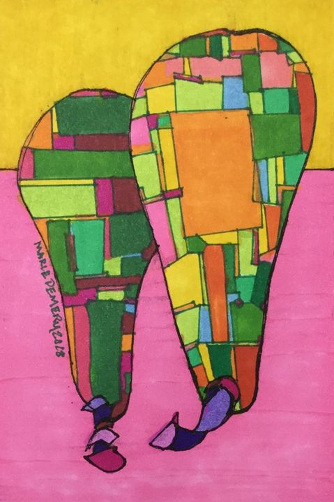 African American Abstract 8 - MarieDemery