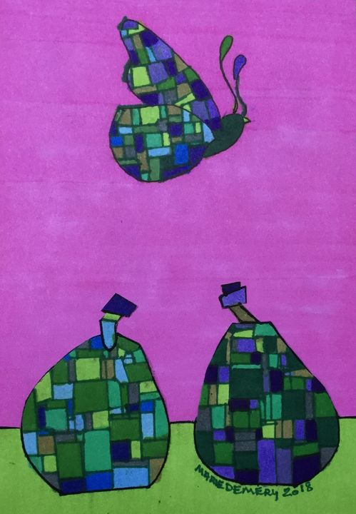 African American Abstract 13 - MarieDemery