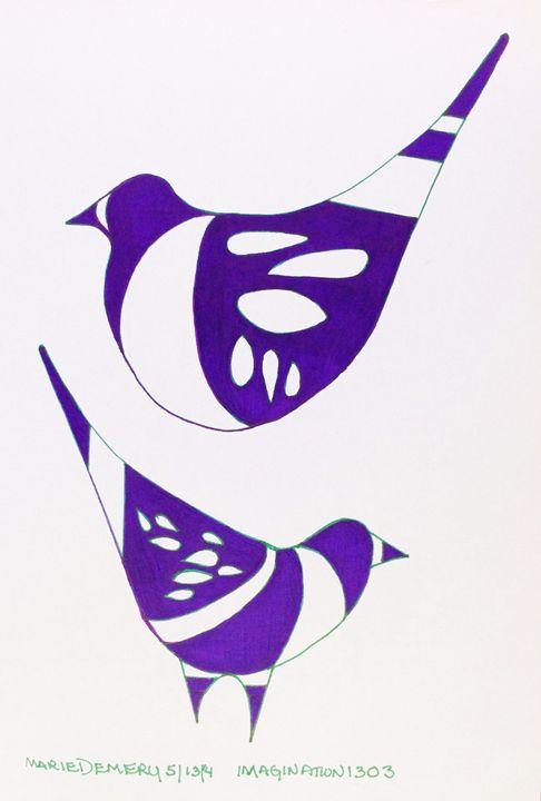 Trinity GOD Spirits of Peace - MarieDemery