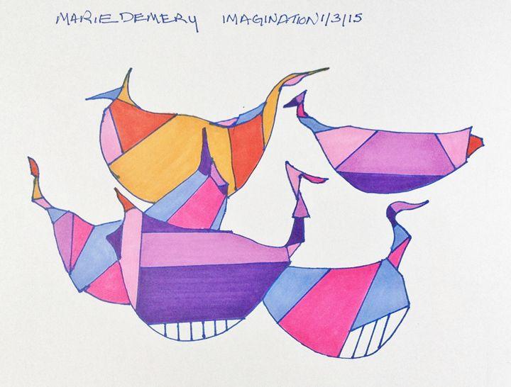 PURPLE ORANGE PEERS - MarieDemery