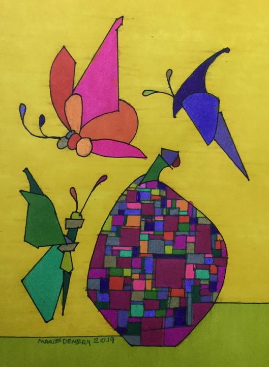 African American Abstract 21 - MarieDemery