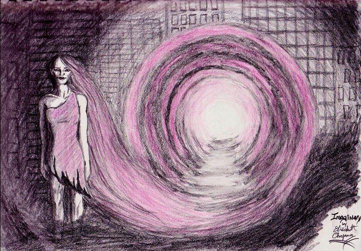Imaginary #pink #sketch #surreal - Elisabeth Northcott