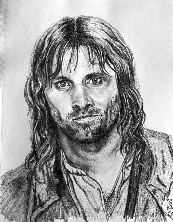 Aragorn #aragorn #lordoftherings - Elisabeth Northcott