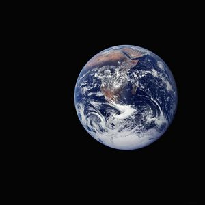 Earth seen from Space NASA Apollo 17