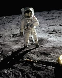 Aldrin on the Moon. Apollo 11