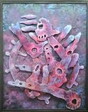 Original Painting on Metal