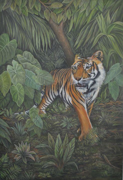 El Tigre en la Selva - Chago