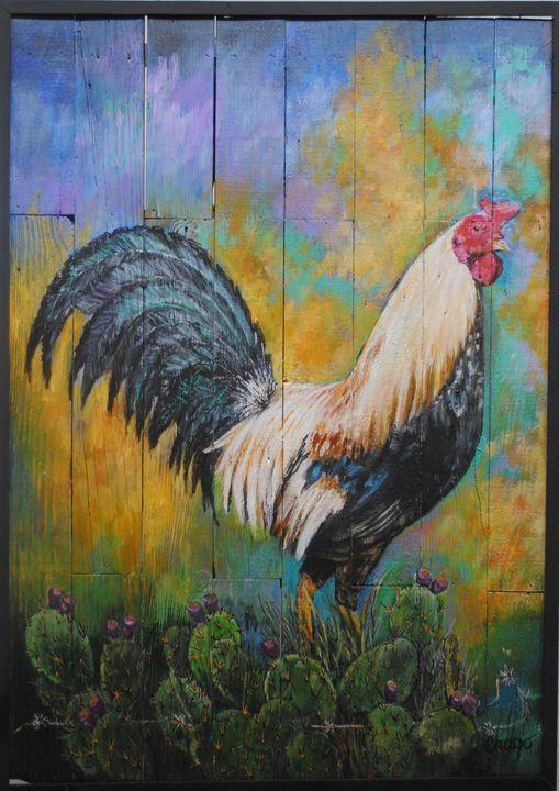 El Gallo de Colores - Chago