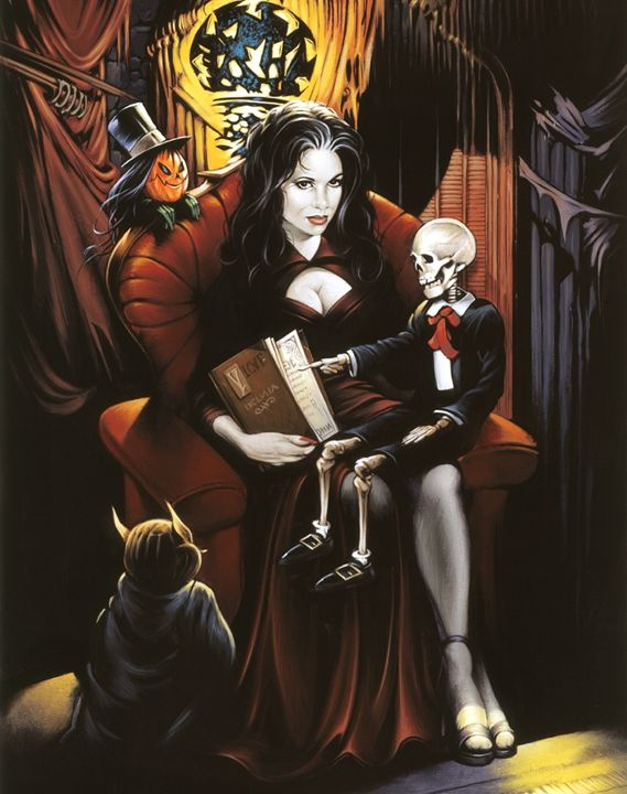 Countess Vladimera - Dave Nestler Pinup, Comic, and Entertainment Art