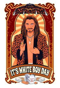 It's White Boy Day