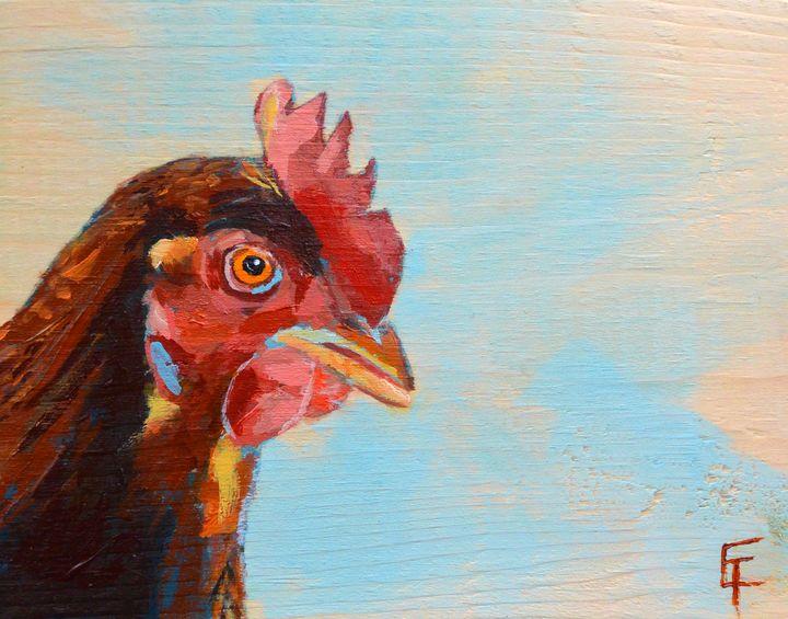 Rooster - Erin Trombley Art *