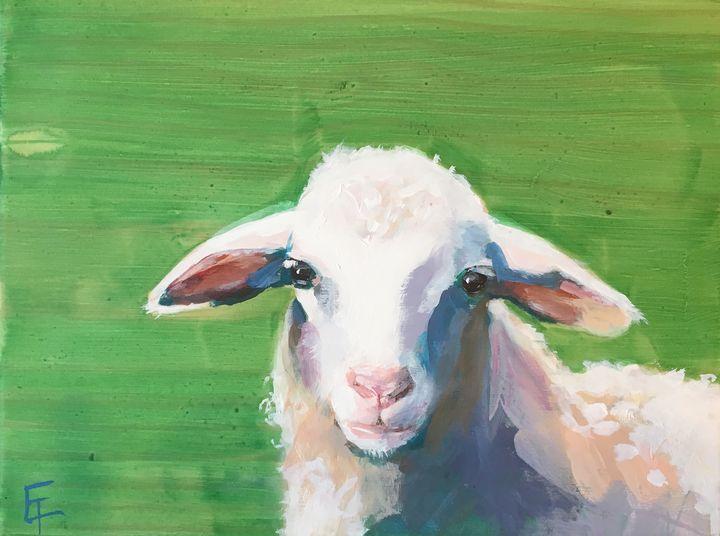 Lamb - Erin Trombley Art *
