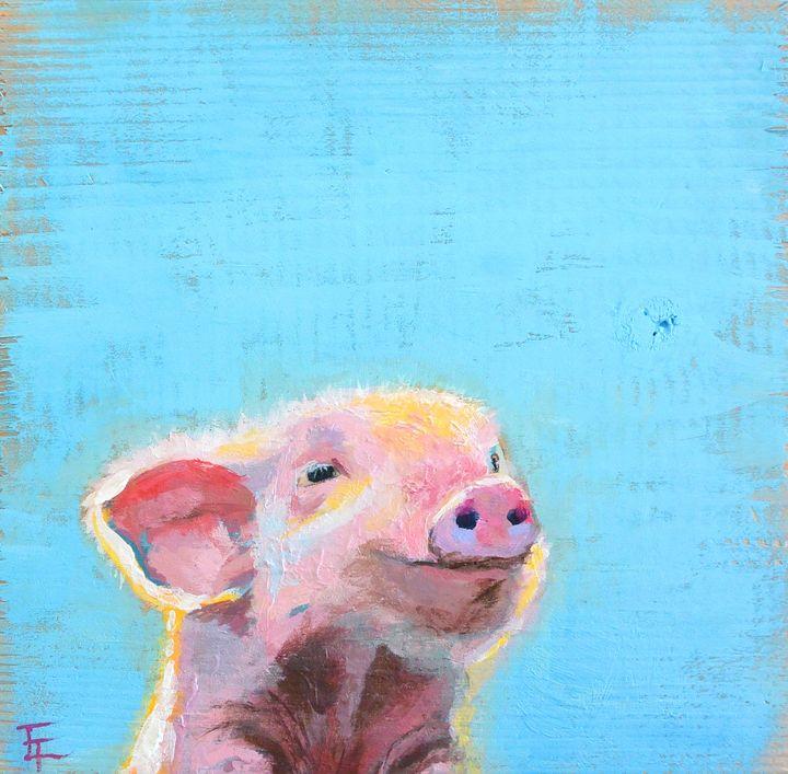 Pig - Erin Trombley Art *