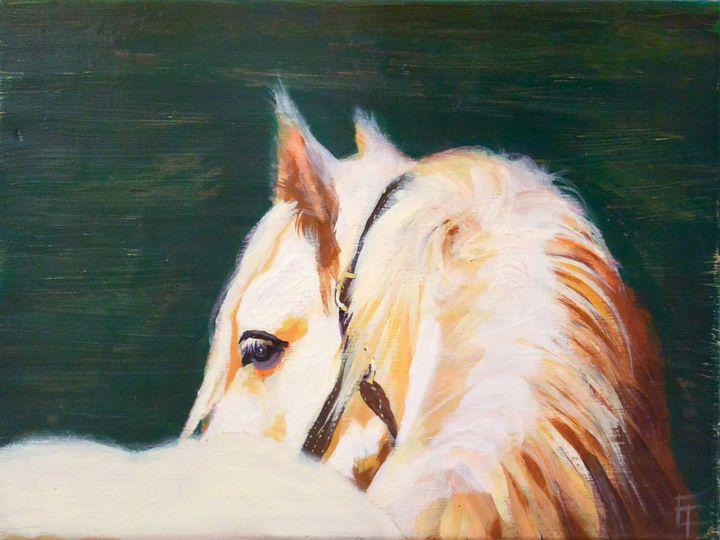 Horse - Erin Trombley Art *