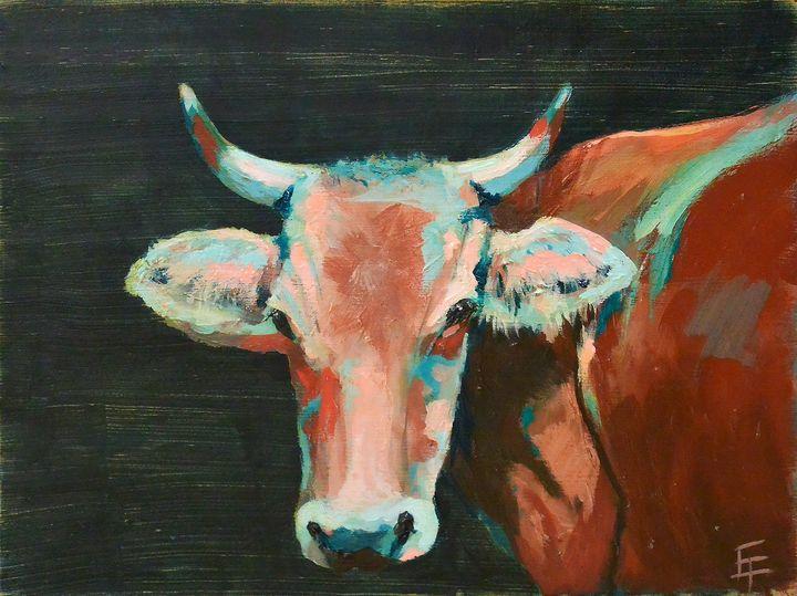 Cow - Erin Trombley Art *