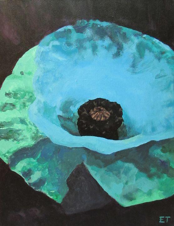 Blue Poppy - Erin Trombley Art *