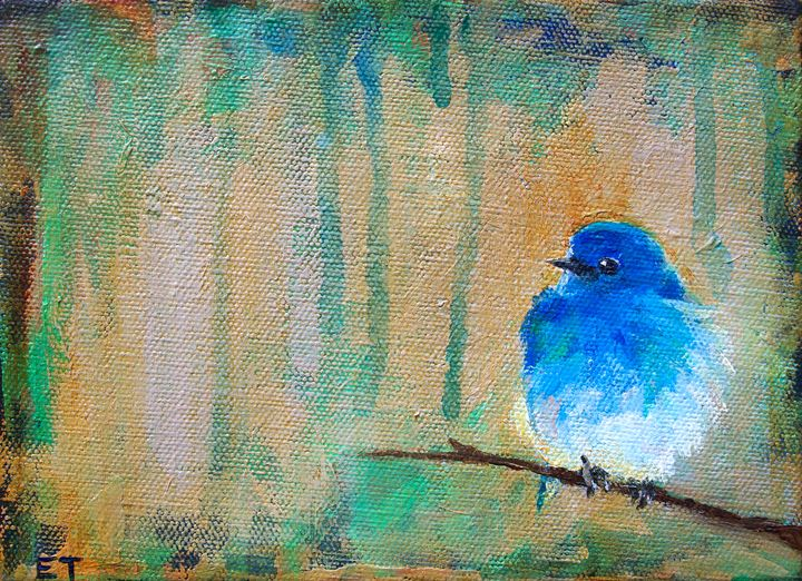 Bluebird I - Erin Trombley Art *