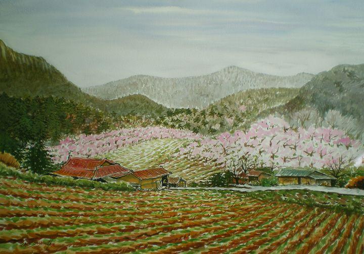 Peach Village - ahnsgallery
