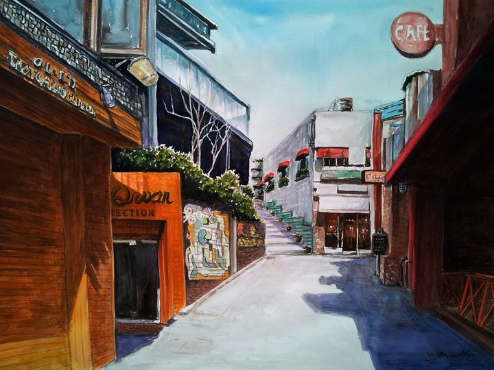 Alley Cafe - ahnsgallery