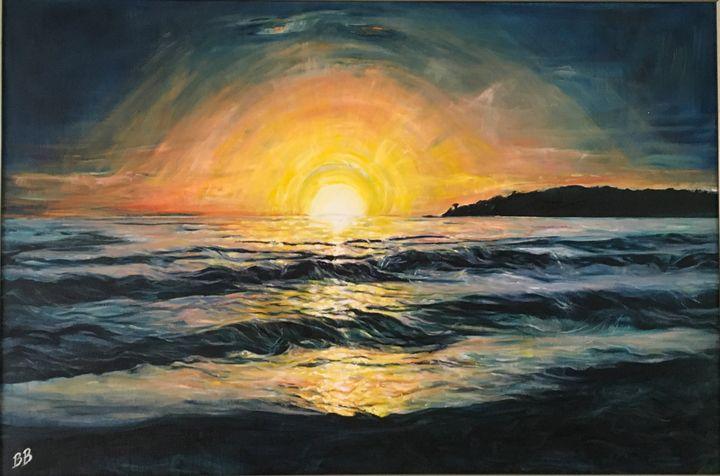 """Carmel Sunset"" - BB Fine Art"