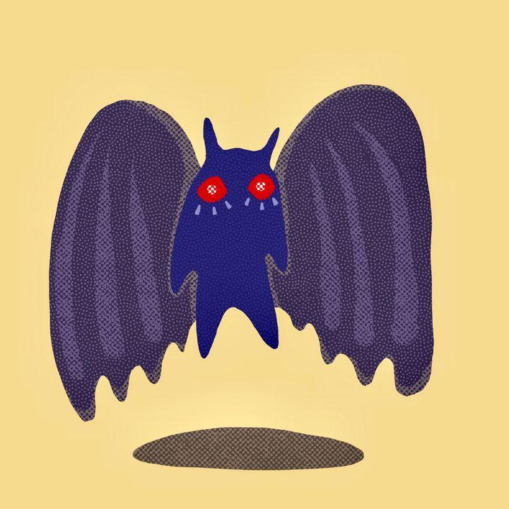 A Simple Modern Moth Man - Anna Tomiczek
