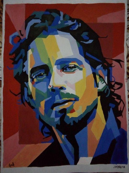 Chris Cornell portrait - Madan