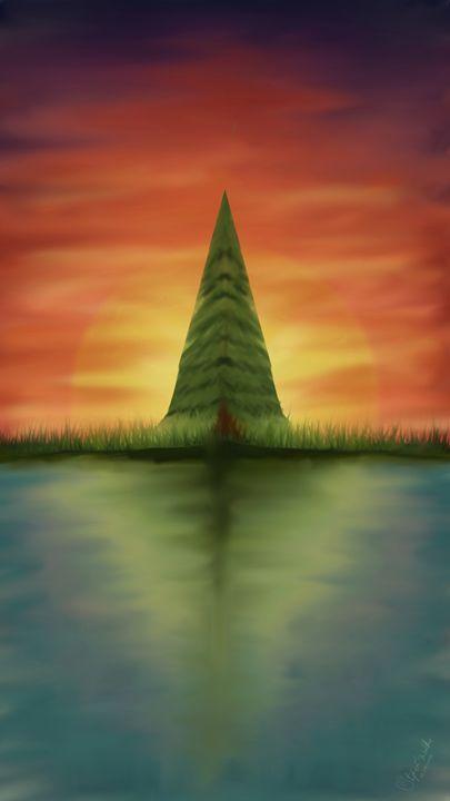 Calm Sunset - Lupi's Wonders