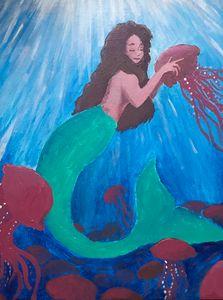 Mermaid with Jellies