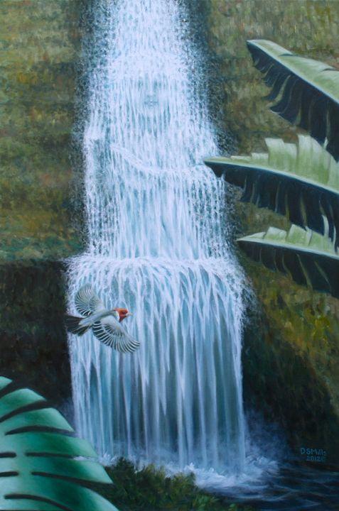 Spirit Falls - Dan Mills Art