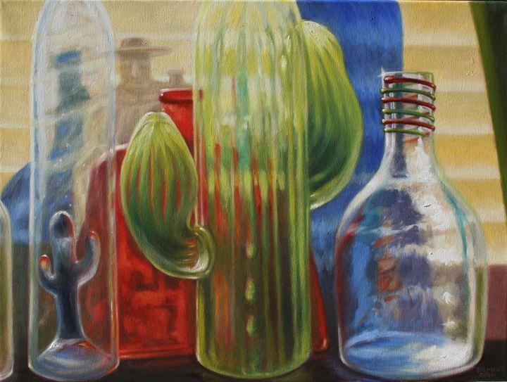 Cactus Glass - Dan Mills Art