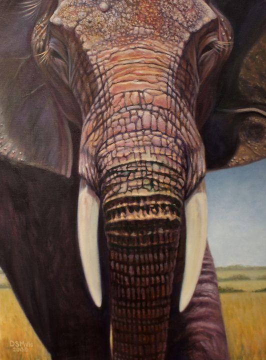 Head On - Dan Mills Art