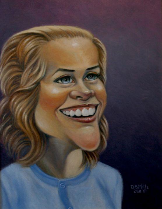 Reese Witherspoon - Dan Mills Art