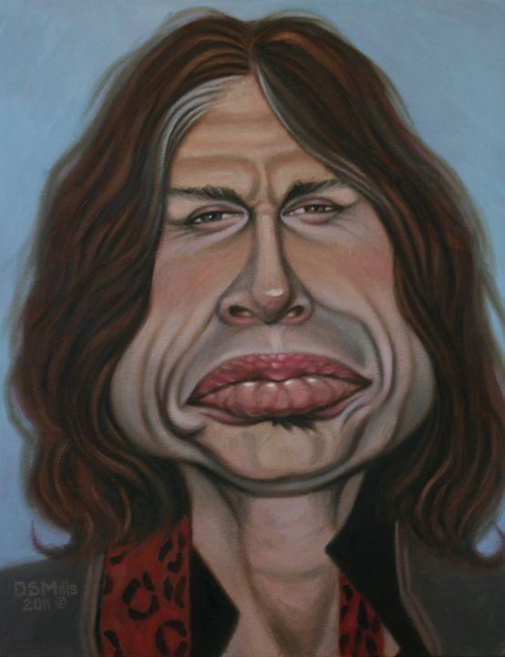 Steven Tyler - Dan Mills Art