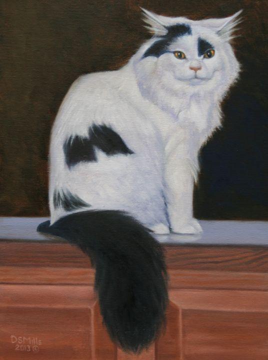 Gato Diablo - Dan Mills Art