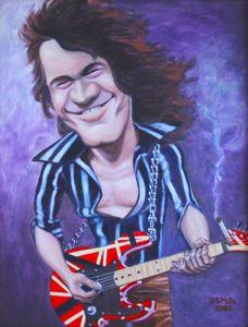 """Eddie """"Fingers"""" Van Halen"""